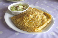 Stuffed Soft Omlette Crape