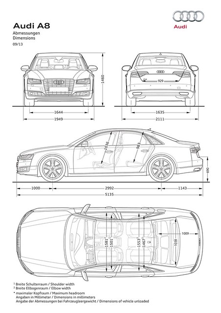 germany fl audi a8 2013