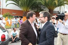 Marco António Costa em Ermesinde