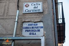 Placa de la Calle del Carmen de Arevalo, Avila, Castilla y Leon. Espaa (RAYPORRES) Tags: espaa septiembre placa avila castillayleon arevalo 2013 calledelcarmen