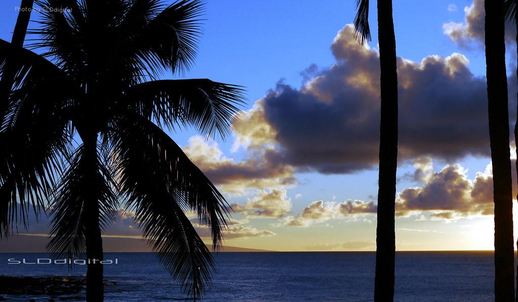7d1684df791 Maui - (SLDdigital) Tags  ocean sunset sun seascape tourism water night  clouds island
