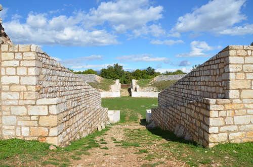 The military Amphitheatre, Burnum legionary camp, Dalmatia