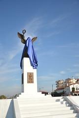 the new Statue of Liberty in Drama, Greece (Nick Tsenteme) Tags: statue liberty greece macedonia drama