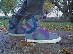 Custom Skytop II's (Purple Cowboy1) Tags: shoe skate sneaker supra skytop