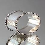 Serviettenring Art Deco Martelliert thumbnail