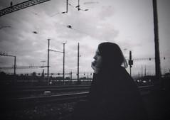 take me away (Kathleen Vtr) Tags: travel portrait white black film myself photography dream away