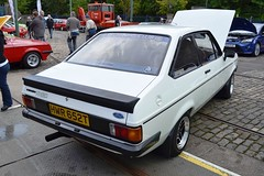 1978 Ford Escort Mark II RS2000  HWR 652T (Paul D Cheetham) Tags: show classic ford museum four october village mark engine 4th tram september ii 1978 petrol 20 straight 1970s 9th cobbles rs tramway escort rs2000 litre crich 2013 hwr 1993cc hwr652t 652t