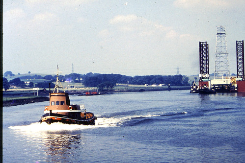 Tug The Flying Duck River Clyde 1960s
