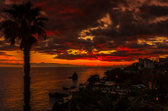Madeira sunset (Descended from Ding the Devil) Tags: sunset portugal madeira nationalgeographic lightroom sigma1020