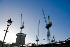 Xmas_2013_47 (jjay69) Tags: city uk england building london skyline architecture buildings crane capital cranes machinery tool lifting liftingmachine
