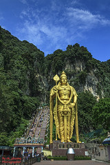 Wolrd's Tallest Murugan Statue # 3 (ak_phuong (Tran Minh Phuong)) Tags: pictures trip 2 wild holland macro art statue festival price last lens landscape for monkey book vietnamese photographer image sale top postcard indian traditional go super images 100mm best tokina phuong tai most cover malaysia area teh excellent l cave about must sales hindu ever cheap minh 1224mm batu tran thaipusam murugan tallest tarek 272 fullview yearly wolrds tng ng tourleader thn teps malaysiabatucave