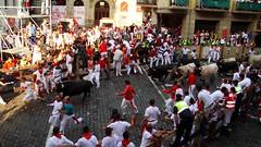 Encierro Ayuntamiento 6 (Destino Navarra) Tags: pamplona ayuntamiento navarra sanfermin encierro balcón
