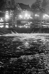 Fyrisn Stream (A.Sundell) Tags: bw 50mm blackwhite pentax sweden bokeh swedish uppsala sverige traveling smc nifty the svartvit f17 5017 smca50mmf17 a pentaxk5 thetravelingnifty50mm