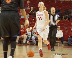 University of Arkansas Razorbacks vs University of Florida Basketball (Garagewerks) Tags: woman college basketball sport female court university all florida sony sigma arena arkansas vs athlete f28 razorbacks 70200mm views100 slta77v