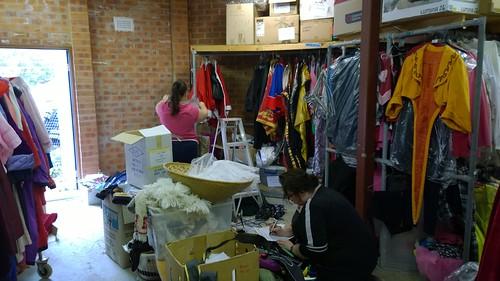 Costume sorting