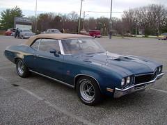 1972 Buick Skylark Convertible (splattergraphics) Tags: buick convertible clone 1972 gs skylark cruisenight glenburniemd lostinthe50s marleystationmall