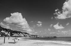 Baa dos Golfinhos - Pipa/Natal/RN (Rodrigo_Chad) Tags: brazil bw praia beach rio brasil natal grande do fineart pb dos nuvens litoral paraiso norte dunas nordeste autoral rn silhueta documental baia golfinhos