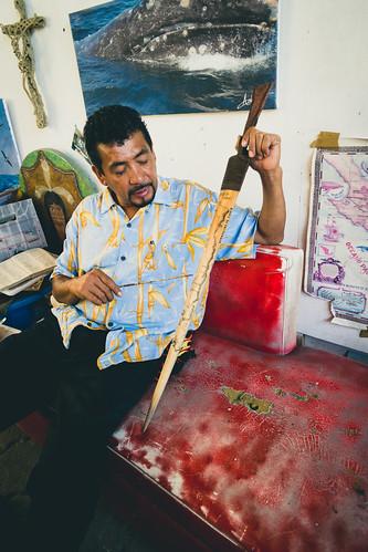 Artist in Cabo San Lucas