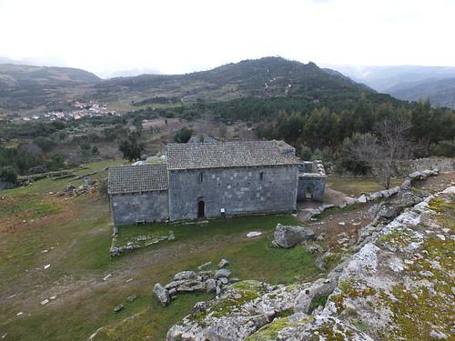 Castillo - Vista de la iglesia del Salvador 3