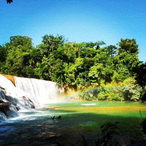 Agua Azul 🌈 #Chiapas #México