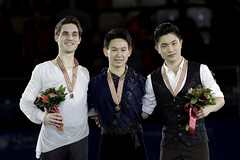 Denis TEN / Joshua FARRIS / Han YAN ({ QUEEN YUNA }) Tags: figureskating