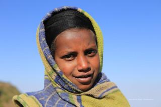 Petite fille a Gondar