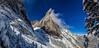 Mount Louis (martin.stockhausen) Tags: blue winter sky snow canada mountains cold clouds louis events jahreszeit natur peak bluesky mount alberta kanada 500px mountlouis improvementdistrictno9