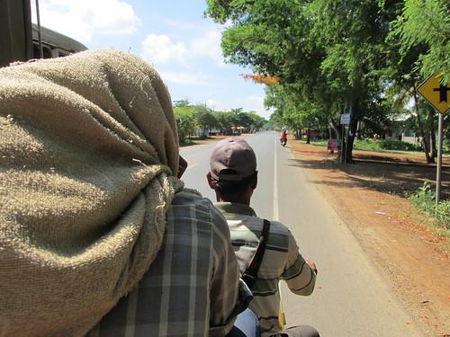 Autostop, Cambodge
