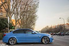 BMW M3 F80 (RAFFER91) Tags: madrid blue spain nikon bmw f80 m3 carspotting d7100 raffer91