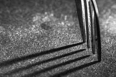 IMG_5650-2 () Tags: light shadow blackandwhite white black canon fork 100mm marco bloomington canon60d