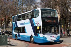 Alexander-Dennis Trident2 Enviro400 (DennisDartSLF) Tags: bus bristol first enviro expressyourself alexanderdennis 33827 trident2 enviro400 somersetandavon sn63myk