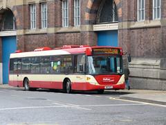 Halton 91 160309 Liverpool (maljoe) Tags: halton haltontransport haltonboroughtransport