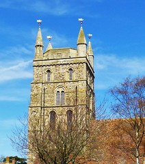 St. Nicholas, New Romney (grassrootsgroundswell) Tags: church kent churchtower newromney englishparishchurch