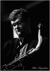 "Mike Moynihan (""SnapDecisions"" photography) Tags: arizona bw music nikon tucson jazz d750 sax pastiche tenor moynihan hirschfeld"