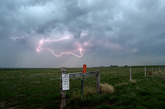 In a Flash (takeruyamato44) Tags: storm nature rain weather clouds meadow lightning wyoming lusk storms