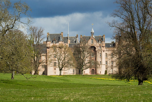 Fyvie Castle. Scotland