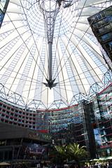 Potsdamer Platz (hdejong57) Tags: berlin unterdenlinden reichstag potsdamerplatz sonycenter brandenburgertor siegessule sightseeings kpenick kaiserwilhelmgedchtniskirche bundeskanzleramt holocaustdenkmal citytrip themauer