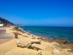 Haifa, Israel (zingeramit263) Tags: travel blue sea sun walking fun israel outdoor wave haifa