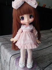 Por fin! Ya tengo en casa a mi adorable kikipop!! (Ikary91) Tags: kikipop kinoko juice romantic frill sugar pink