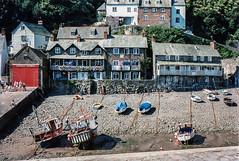 Clovelly, 1992 (Richard G. Hilsden) Tags: uk england cornwall britain g devon 1992 hilsden richardghilsden