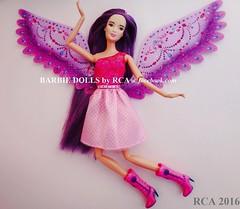 Barbie Endless Hair Kingdom Princess Doll on Barbie style body (Barbie dolls by RCA) Tags: hair wings doll purple princess body barbie style kingdom lea endless