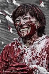 Dark colors (balboni.antonella) Tags: volti persone people ritratti ritratto sangue colore rosso