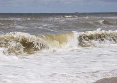 Brandung / Breakers (schreibtnix off for a while) Tags: sea travelling beach netherlands strand landscape reisen meer wave breakers landschaft welle niederlande brandung olympuse5 schreibtnix