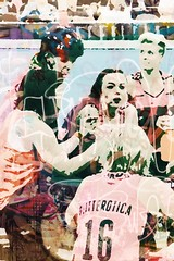 Roller girls (kathender1) Tags: skating rollerderby skaters too rollerskating romanesco