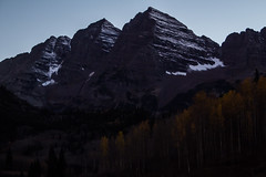 IMG_7990a (markbyzewski) Tags: mountain lake twilight colorado aspen maroonbells