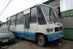 Caio Carolina IV // Mercedes-Benz LO-708E // Taxutal (Talca) ( JotaBBus) Tags: mercedesbenz caio carolinaiv lo708e ax5209