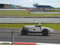 Talbot 90 (BenGPhotos) Tags: white classic sports car club race start vintage spring racing silverstone british motor panning circuit nigel wills 90 talbot motorsport vscc autosport 2016