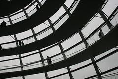 Sonder (mlssrblkn) Tags: people bw berlin stranger reichstag sw minimalistic passerby kuppel sonder