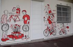 HOPNN (HBA_JIJO) Tags: urban streetart france art wall painting graffiti spray peinture yuri bicyclette mur velo vitry romagnoli vitrysurseine hopnn paris94 hbajijo