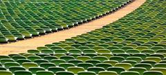 Cross (TablinumCarlson) Tags: park leica green germany munich münchen bayern deutschland bavaria football dof stadium seat soccer m summicron m8 olympia munchen olympic grün stadion 90mm muenchen oly 1860 olympiapark olympiastadion günther behnisch fusball sitz fussballstadion oberwiesenfeld